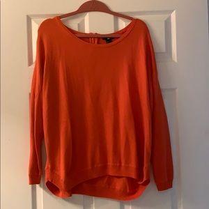 H&M orange sweater